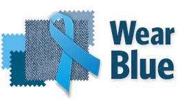 Wear blue logo